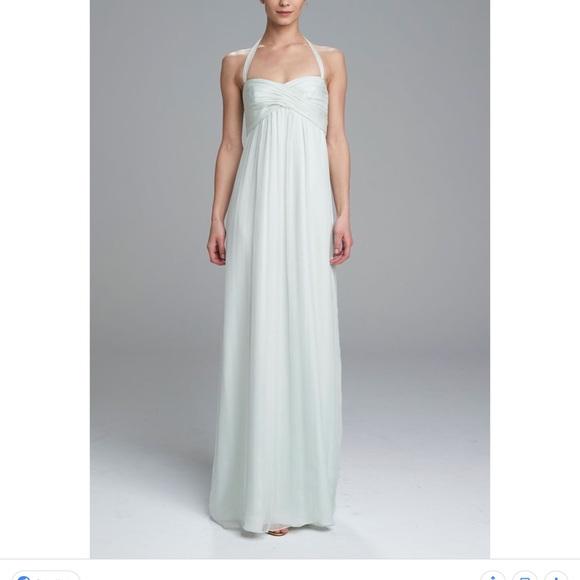 Amsale Dresses Bridesmaids Dress Pale Blush Color Poshmark